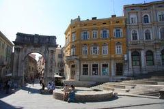 Dubrovnik, Croatia. Downtown Royalty Free Stock Photos