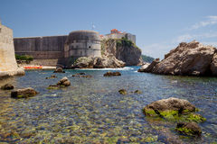 Dubrovnik. Croatia. Fort Bokar. Stock Photos