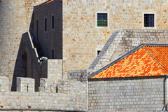 Dubrovnik. Croatia. Fortification of the old city. Stock Photo