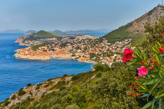 Dubrovnik, Croatia. The historic city of Dubrovnik, Croatia stock image