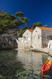 Dubrovnik - Croatia. Historical stone houses in Dubrovnik - Croatia Royalty Free Stock Photos