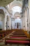 Dubrovnik, Croatia - July 19, 2016: Assumption of the Virgin Mary Cathedral Royalty Free Stock Photo