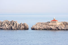 Dubrovnik Croatia Lighthouse Stock Photo