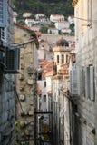 Dubrovnik Croatia miasta stary widok od miasto ściany Obrazy Royalty Free