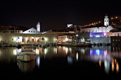 Dubrovnik croatia noc Zdjęcie Stock