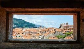 Dubrovnik, Croatia. Old town of Dubrovnik, Croatia Royalty Free Stock Photography
