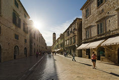 Dubrovnik, Croatia. Old Town Royalty Free Stock Photography