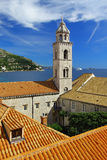 The Dominican monastery in Dubrovnik, Croatia Stock Images