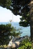 Dubrovnik Croatia piękny denny widok Zdjęcie Royalty Free