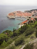 Dubrovnik croatia schronienia Zdjęcia Stock