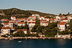 Dubrovnik, Croatia, seen from the sea Royalty Free Stock Image