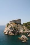 Dubrovnik, Croatia. St. Lawrence fortress Royalty Free Stock Image