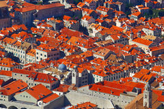 Dubrovnik, Croatia.Top view. Royalty Free Stock Images