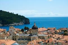 Dubrovnik,CROATIA. View from old town, Dubrovnik, Croatia Stock Photos