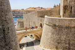Dubrovnik Croatia wall Stock Photos