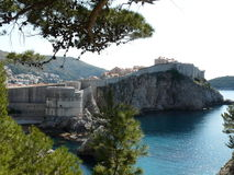 Dubrovnik, Croatia. Walled town in Dubrovnik, Croatia Stock Photography