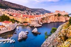Dubrovnik, Croatie photos stock