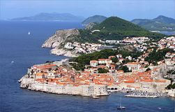 Dubrovnik, Croatie, l'Europe Photographie stock