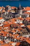 Dubrovnik-Dachspitzen Lizenzfreie Stockfotografie