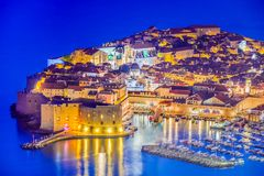 Dubrovnik, Dalmácia, Croácia Fotos de Stock