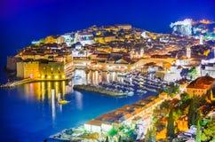 Dubrovnik, Dalmácia, Croácia Foto de Stock