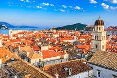 Dubrovnik, Dalmatia, Chorwacja obraz royalty free