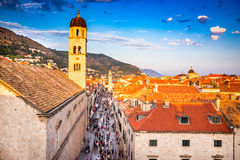 Dubrovnik, Dalmatia, Chorwacja Obrazy Royalty Free