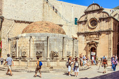 Dubrovnik, Dalmatia, Croatia. Stock Photo