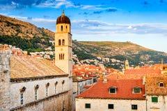 Dubrovnik, Dalmatien, Kroatien stockbild