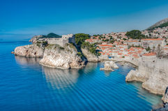 Dubrovnik, Dalmatien, Kroatien Stockbilder