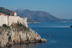 Dubrovnik, Dalmatien, Kroatien Lizenzfreie Stockfotos