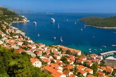 Dubrovnik en Croacia Imagenes de archivo