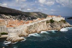 Dubrovnik en Croatia Foto de archivo libre de regalías