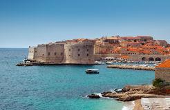 Dubrovnik fästning royaltyfria bilder