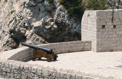 Dubrovnik-Festung. Kroatien lizenzfreie stockfotos
