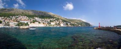 Dubrovnik fjärd Arkivfoton