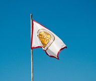 Dubrovnik Flag Royalty Free Stock Photography