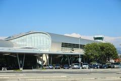 Dubrovnik-Flughafen lizenzfreie stockbilder