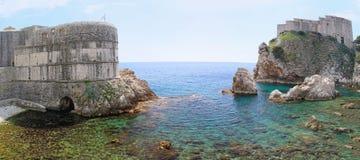 Dubrovnik fort obraz stock