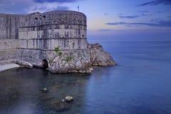 Dubrovnik fort Arkivbild