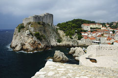Dubrovnik fort Royalty Free Stock Photos