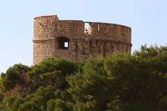 Dubrovnik, fortaleza de Tvrdjava-The Imagem de Stock