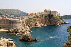 Dubrovnik forteca fotografia royalty free