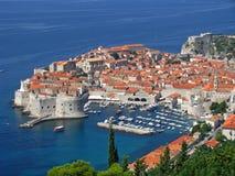 Dubrovnik forteca w południe Chorwacja - Zdjęcia Royalty Free