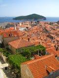 Dubrovnik forteca w południe Chorwacja - Zdjęcie Royalty Free