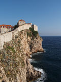 Dubrovnik fortified old town, Croatia Stock Photos