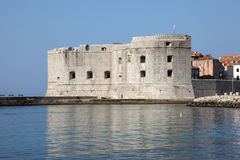 Dubrovnik fortress Stock Photography