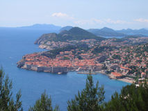 Dubrovnik Fortress. In the south of Croatia Stock Images