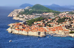 Dubrovnik Fortress Royalty Free Stock Photography