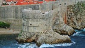Dubrovnik fortress Bokar Stock Photo